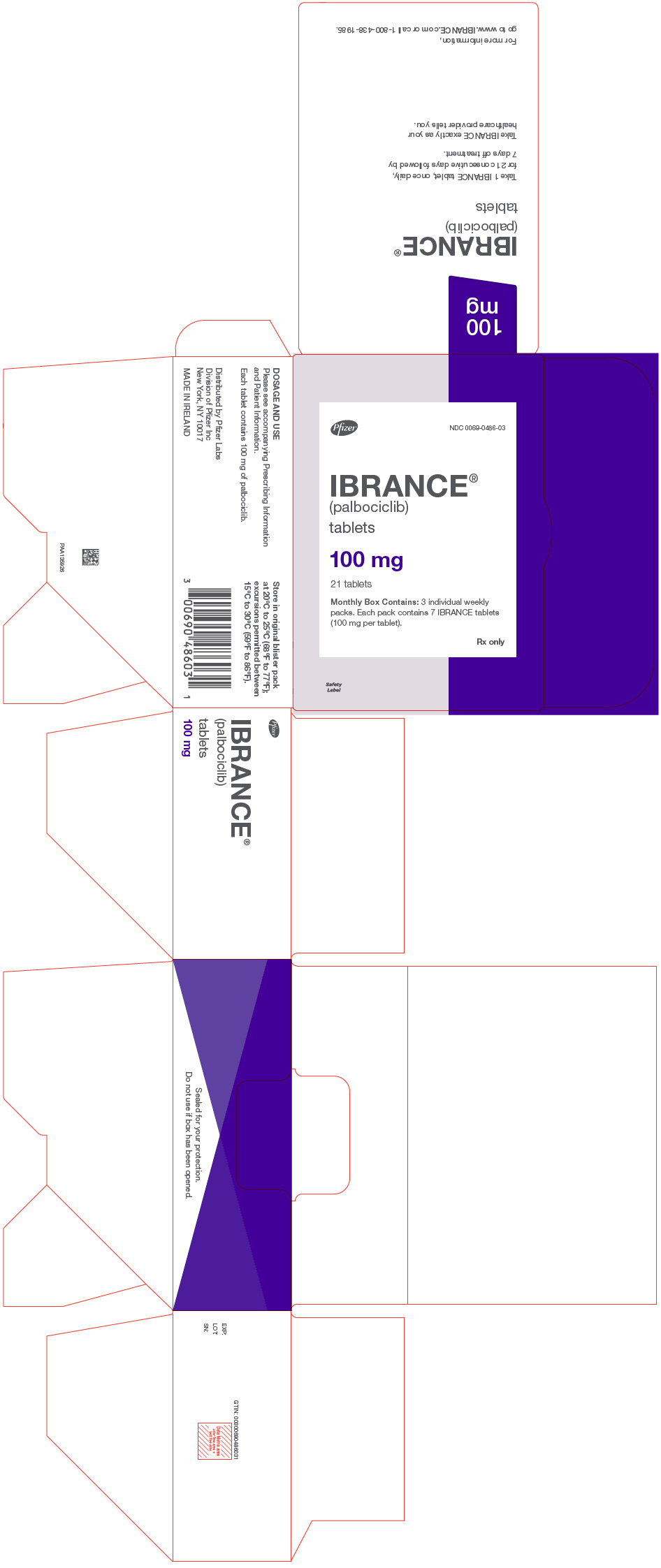 PRINCIPAL DISPLAY PANEL - 100 mg Tablet Dose Pack Carton